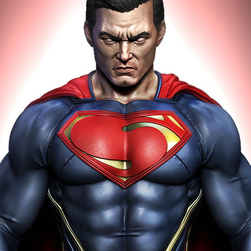 Superman 1/4 Statue