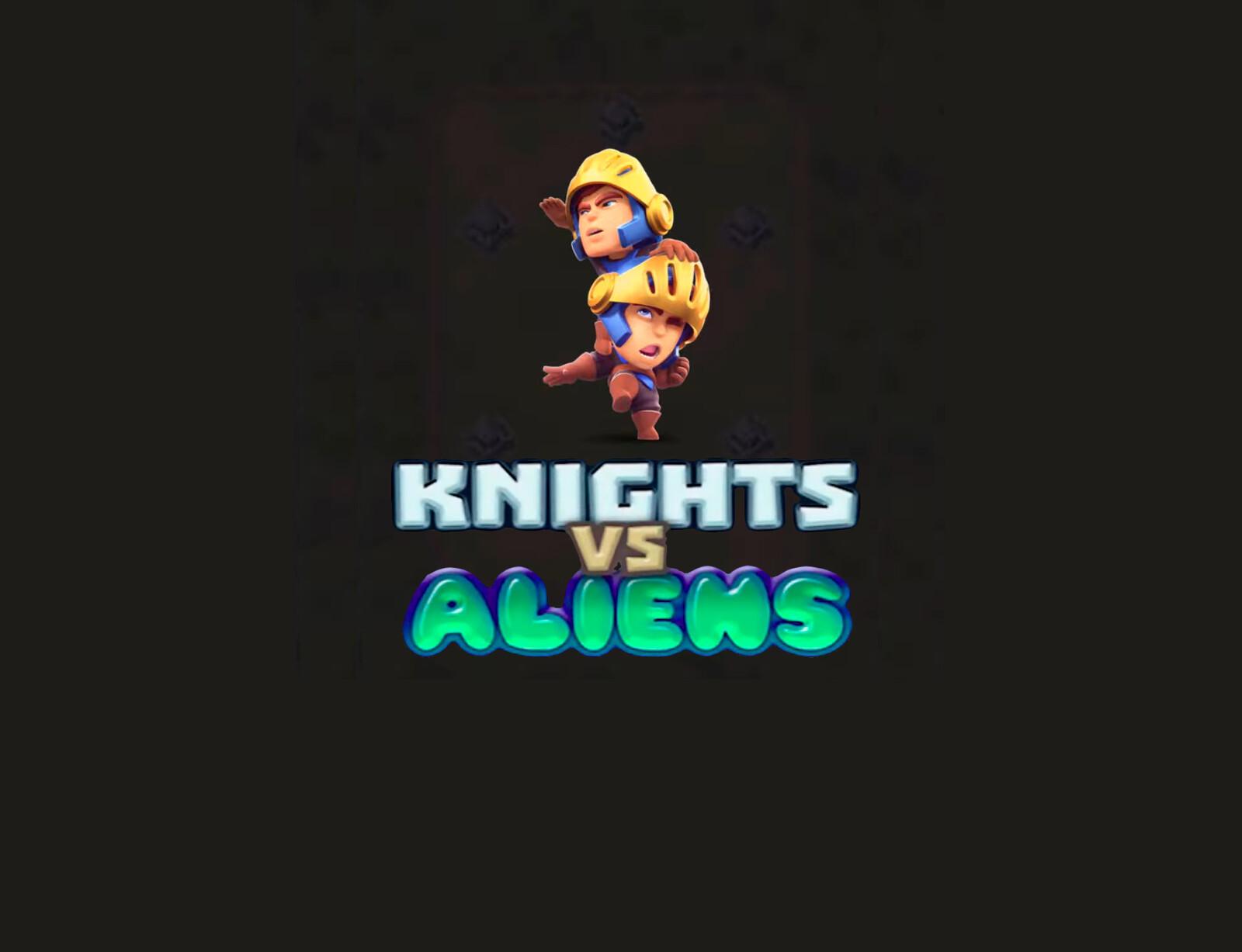 Knights vs Aliens