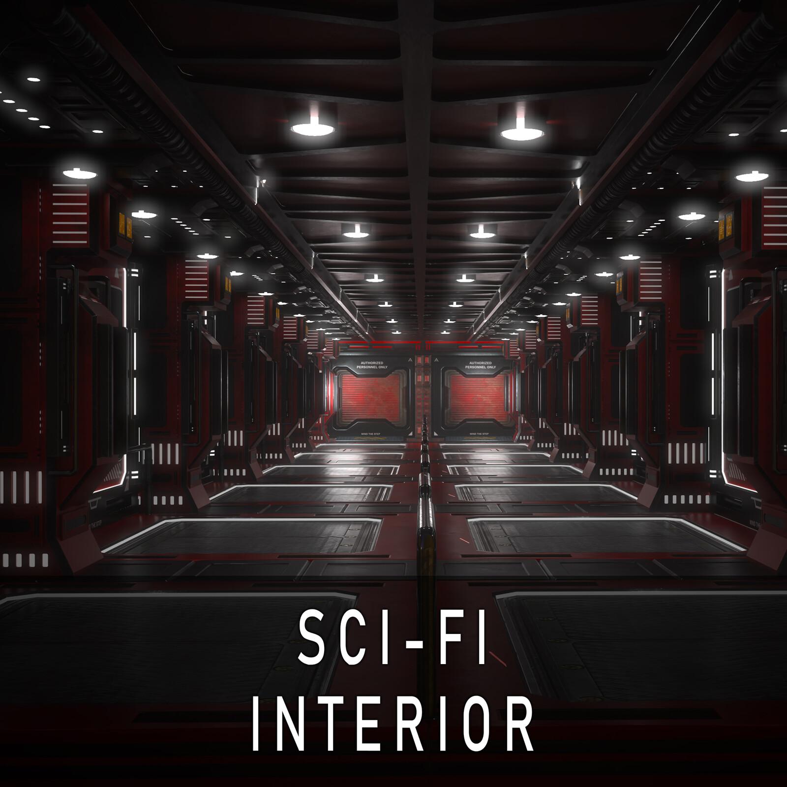 Modular Sci-fi-Interior