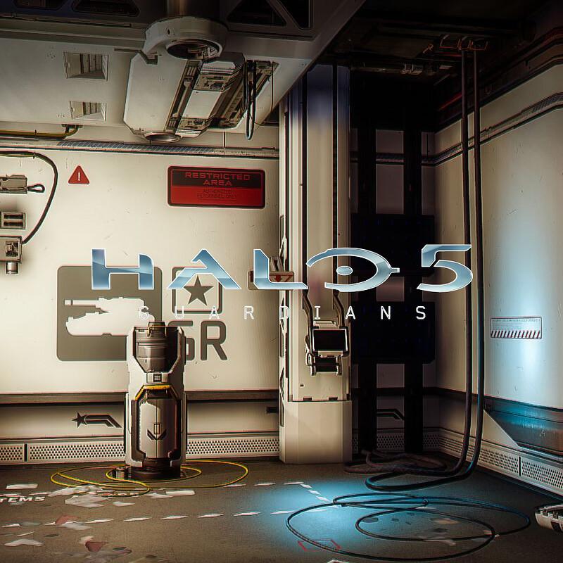 Halo 5: Guardians Warzone - Garage Interior