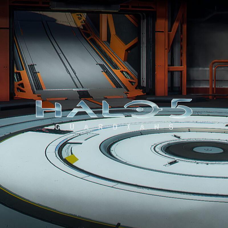 Halo 5: Guardians Warzone - Garage Vehicle Bay