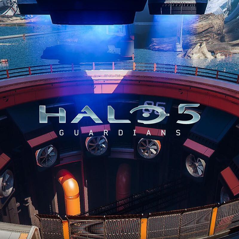 Halo 5: Guardians Warzone - Arc RocketPit