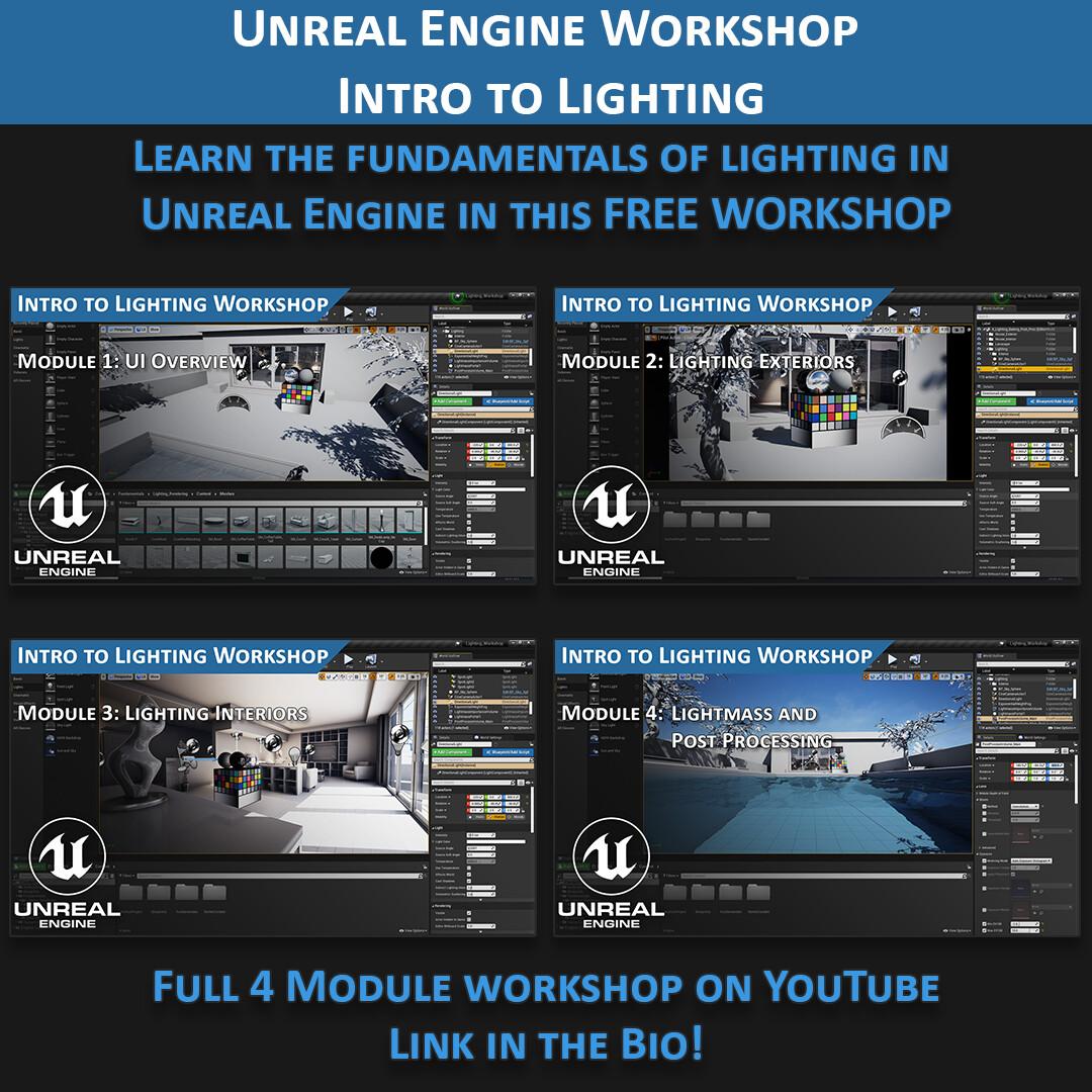 Unreal Engine Lighting Workshop