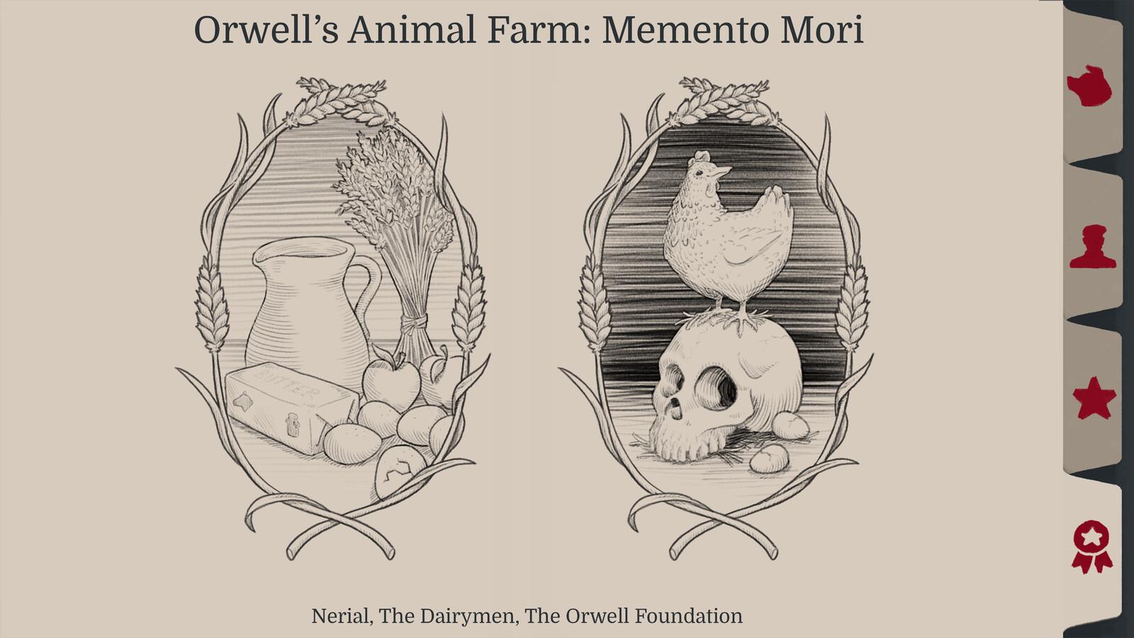 Orwell's Animal Farm: UI Extras