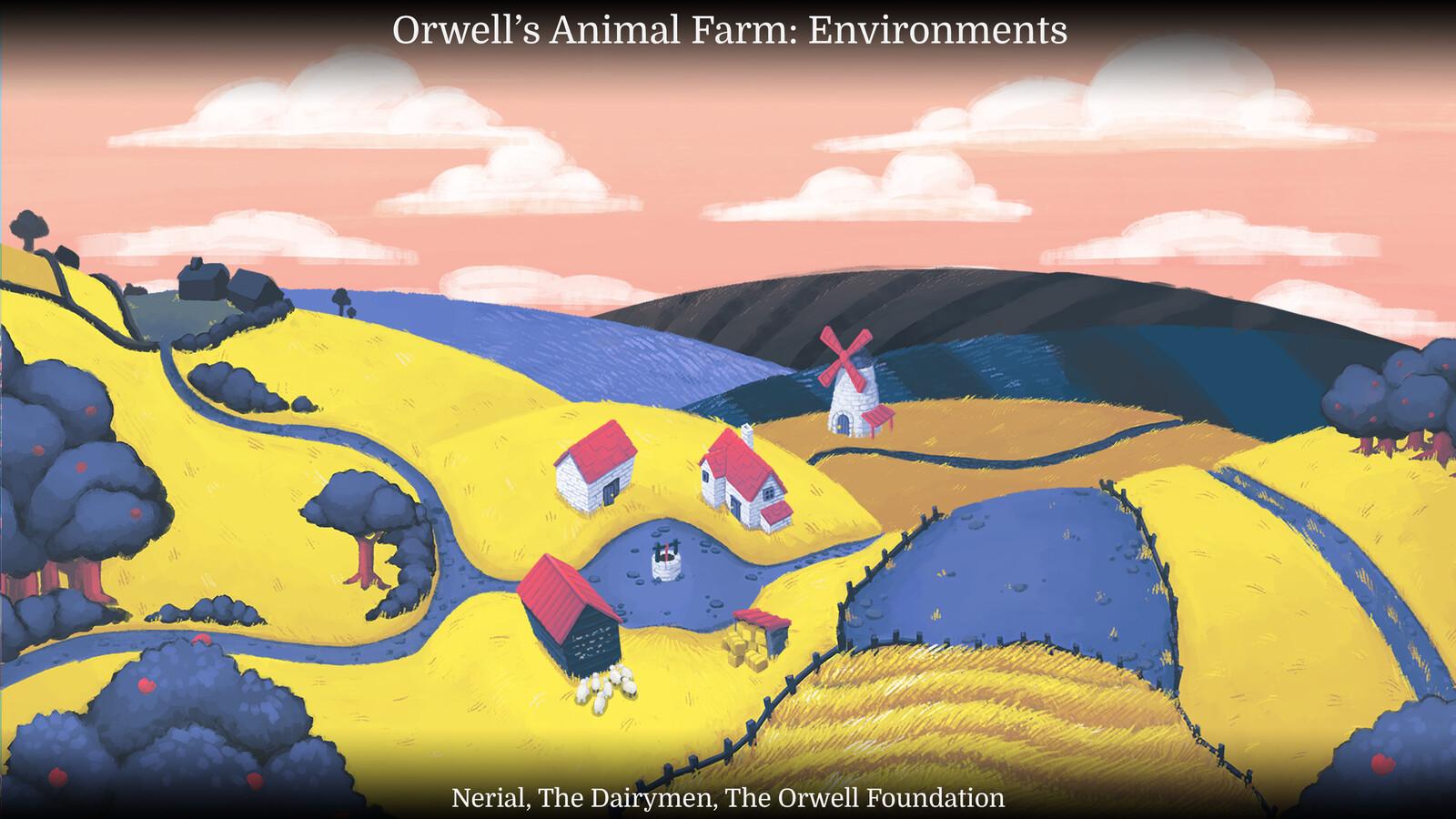 Orwell's Animal Farm: Environments
