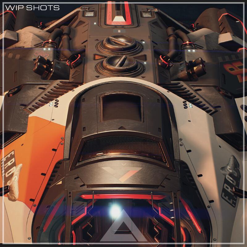 Hephaestus Heavy Industries - WIP Shots