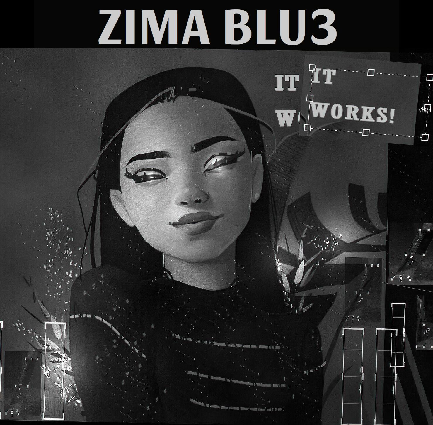 ZIMA BLU3