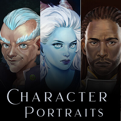 Trudy wenzel trudy wenzel artstation preview character portraits