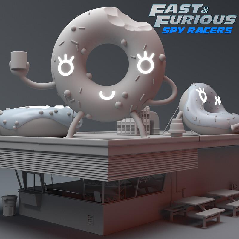 Fast & Furious Spy Racers - Donut Shop