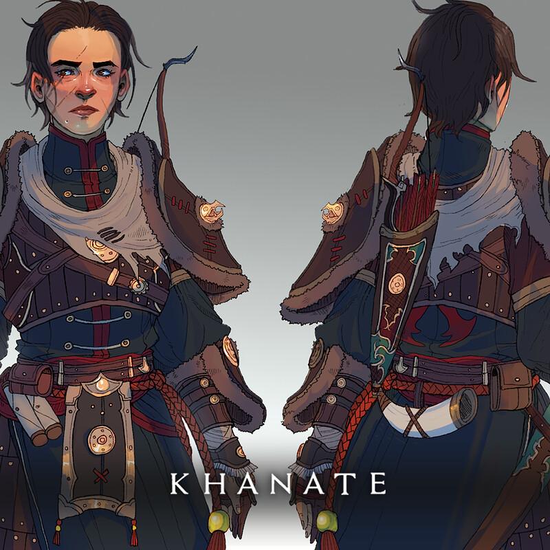 Khanate: Hunter Model Sheet
