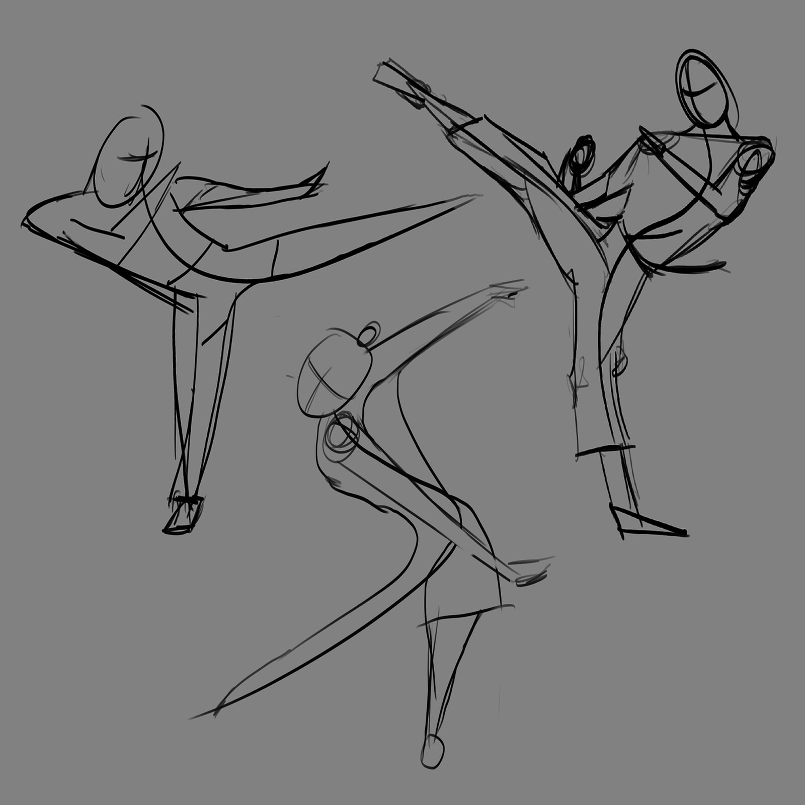 Pose practice