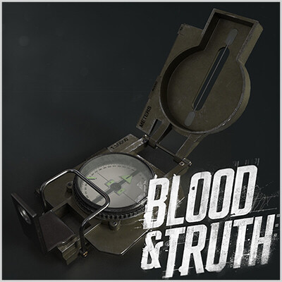 Blood & Truth-Compass Prop