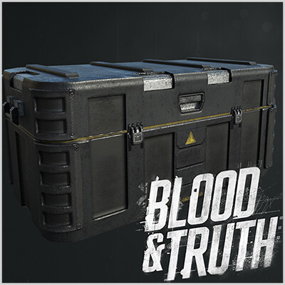 Blood & Truth- Military Crates