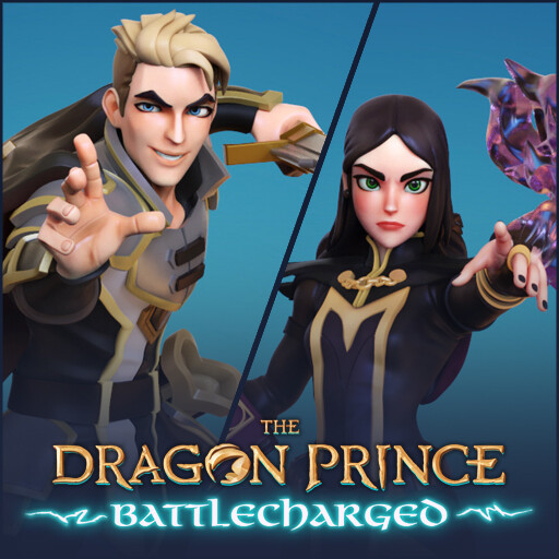 Dragon Prince Battlecharged - Claudia and Soren