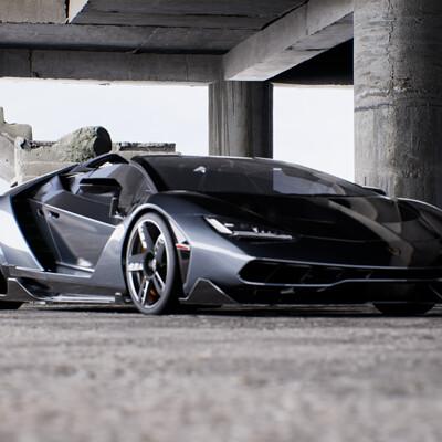 Lamborghini Centenario Roadster // Unreal Automotive Study