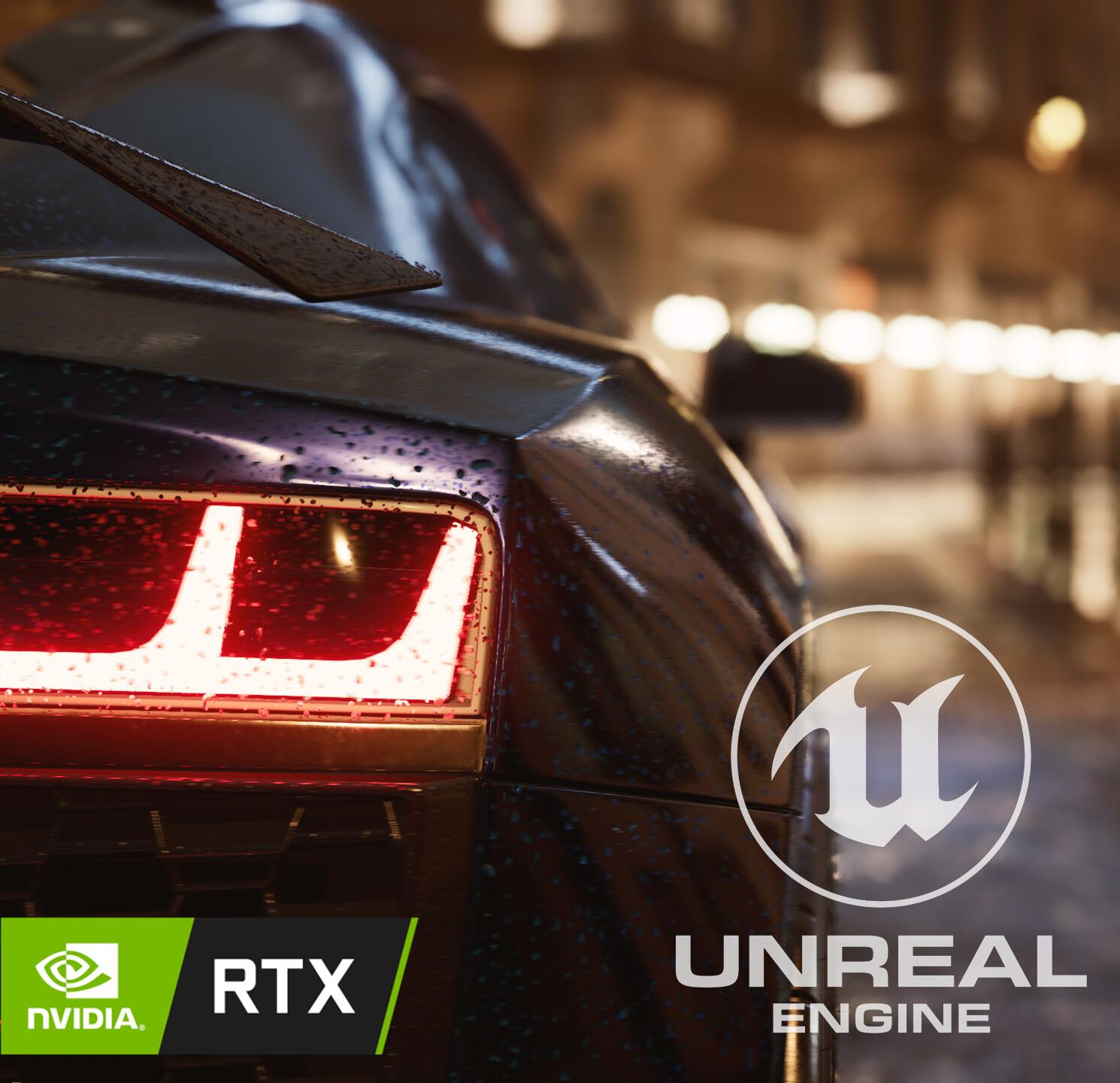 Audi R8 2021 - UE4 RTX Full CG