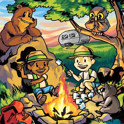 Mario castaneda mario castaneda campfire thumb
