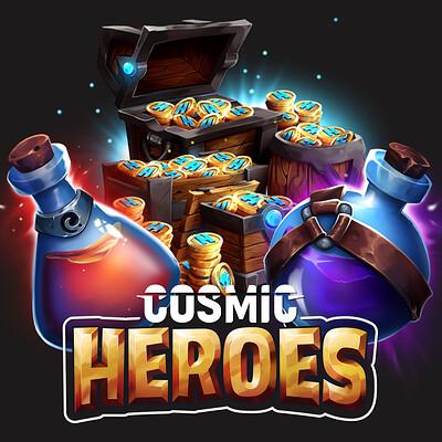 Cosmic Heroes - Various Items