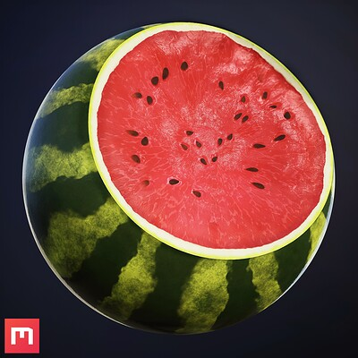 Watermelon Procedural Material