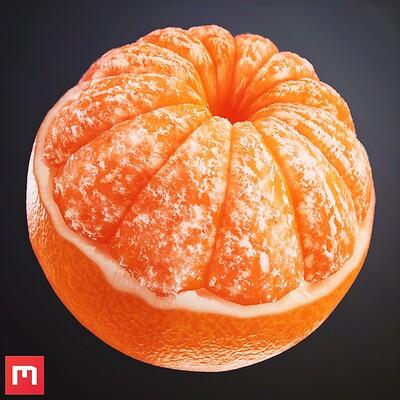 Tangerine Procedural Material