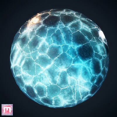 Ice Procedural Material
