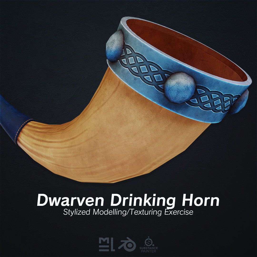 Third Year Capstone - Dwarven Drinking Horn
