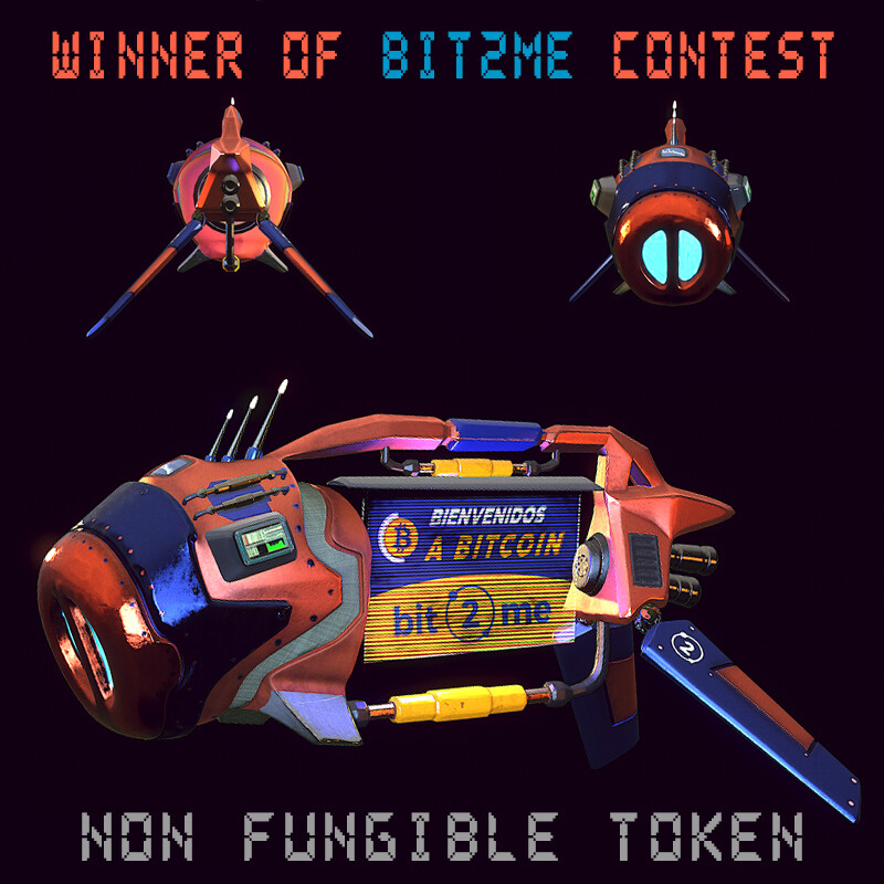 BTC SpaceShip - Winner of bit2me contest