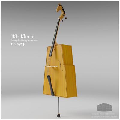 Michael klee michael klee ikh khuur mongolia string instruments 3d model by michael klee