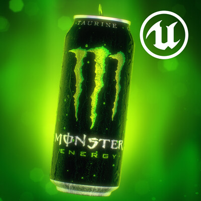 Unreal Monster Energy Drink