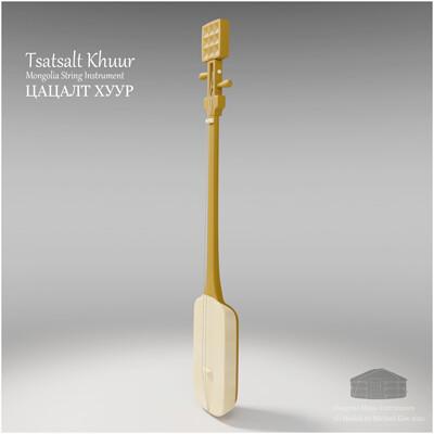 Michael klee michael klee tsatsalt khuur mongolia string instruments 3d model by michael klee 3