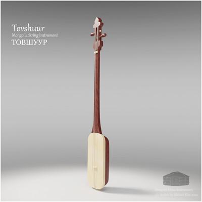 Michael klee michael klee tovshuur mongolia string instruments 3d model by michael klee 2