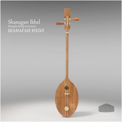 Michael klee michael klee shanagan ikhel mongolia string instruments 3d model by michael klee 4