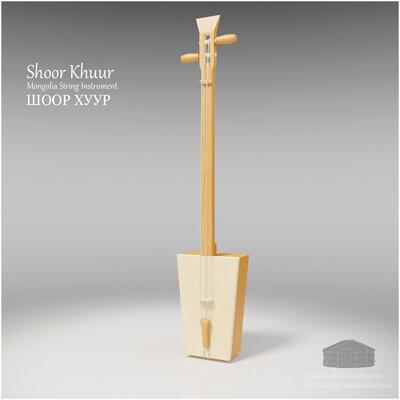 Michael klee michael klee shoor khuur mongolia string instruments 3d model by michael klee 3