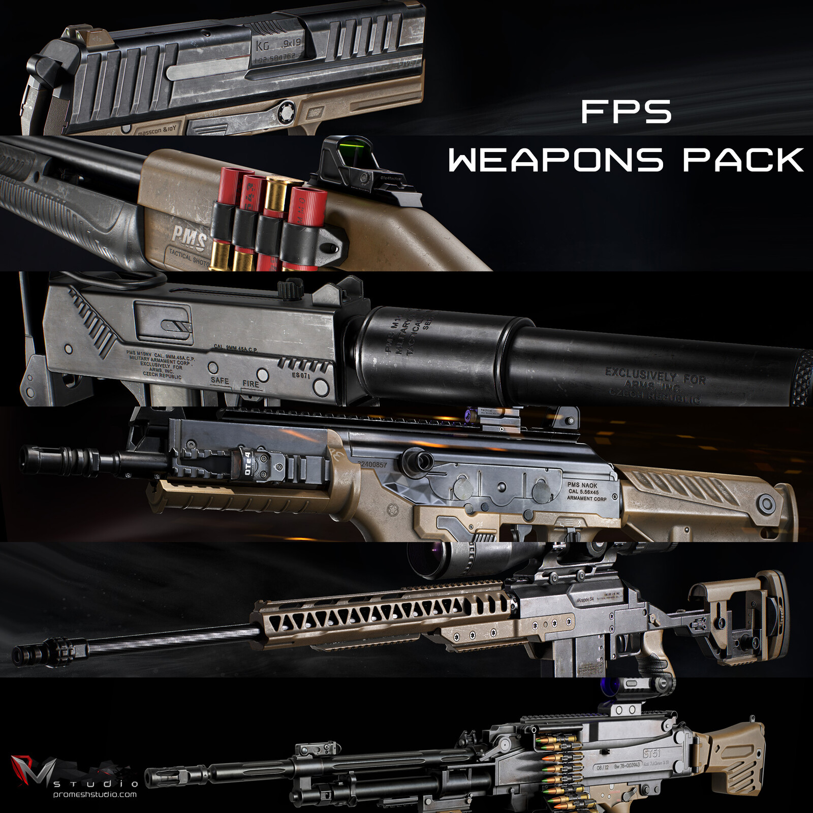 PMS Weapons Series