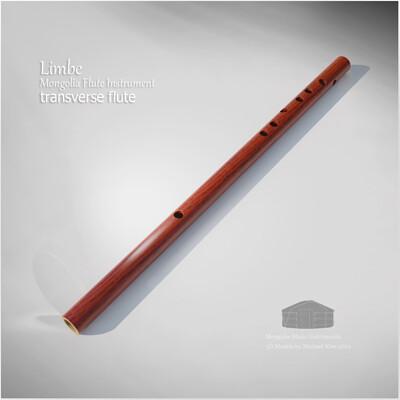 Michael klee michael klee limbe mongolia flute instrument 3d model by michael klee