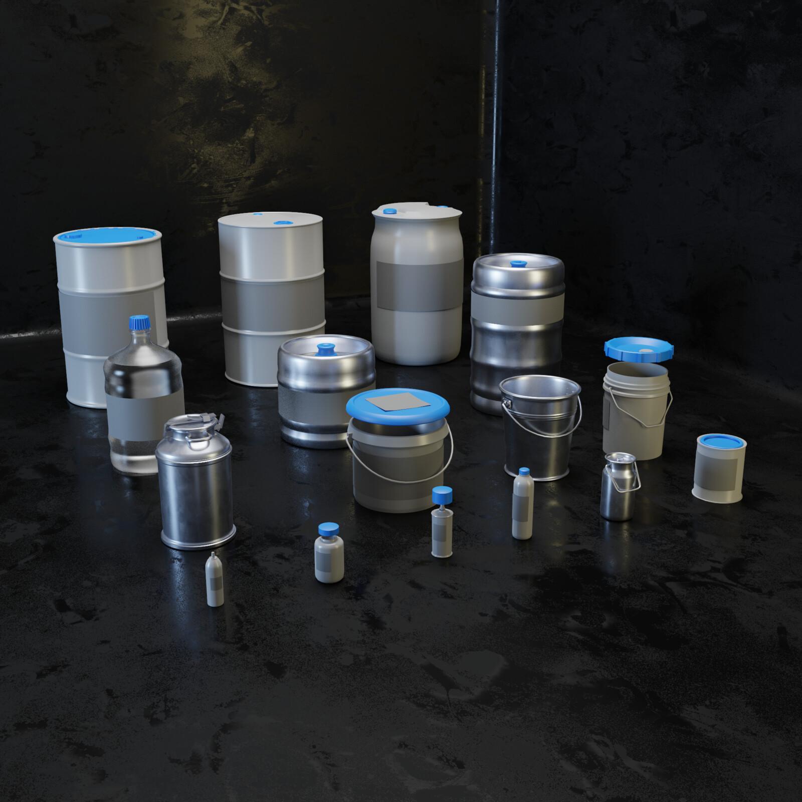 Props kit Barrels