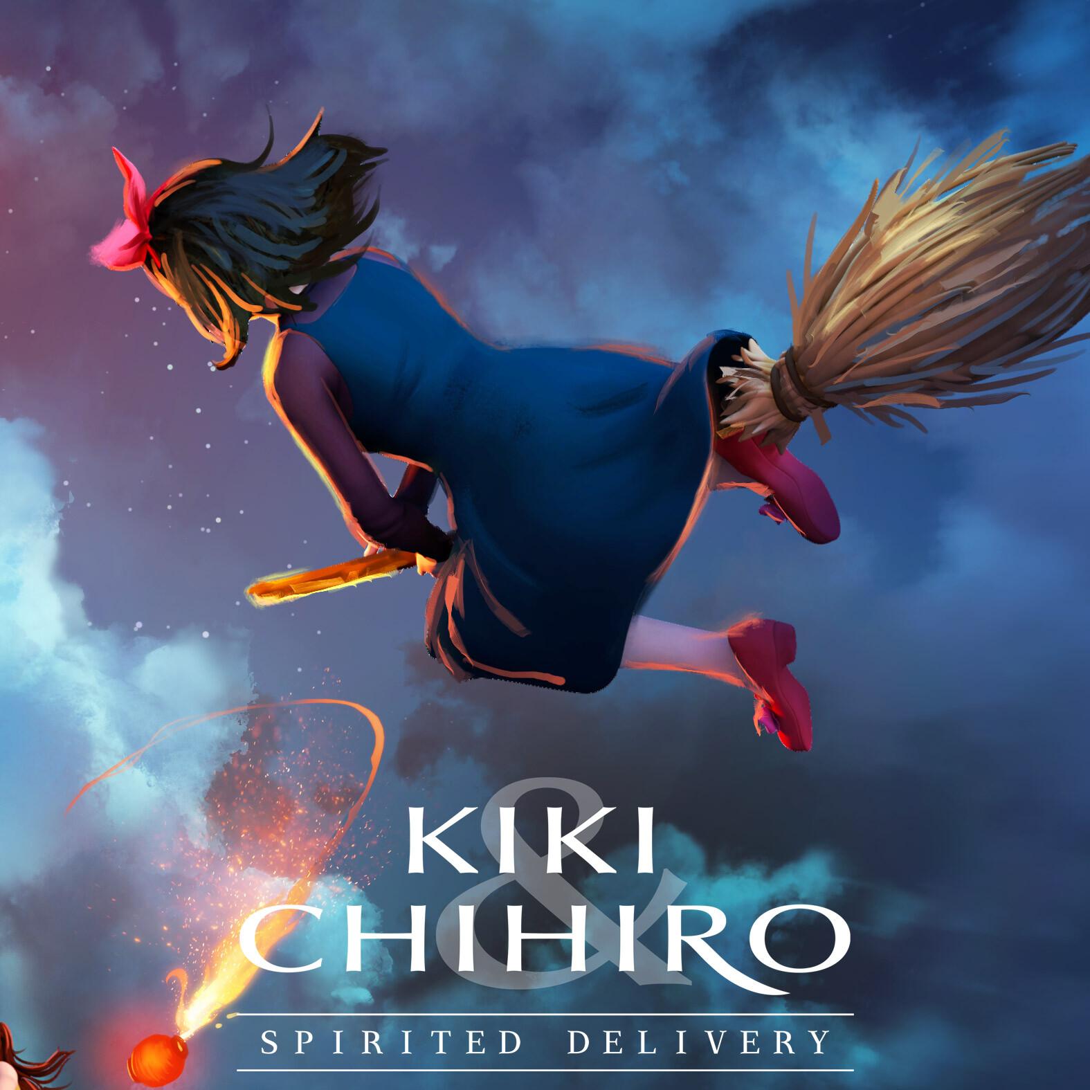 Kiki & Chihiro Spirited Delivery : Wrath of Yubaba
