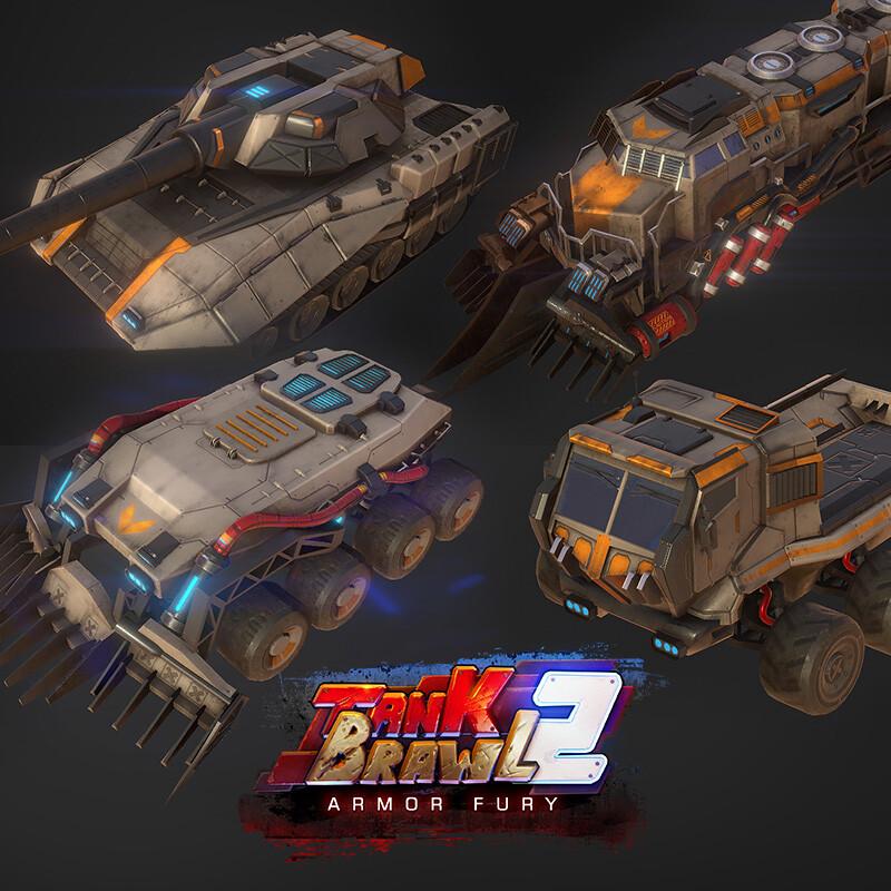 TankBrawl2: Armor Fury - asset drops 1