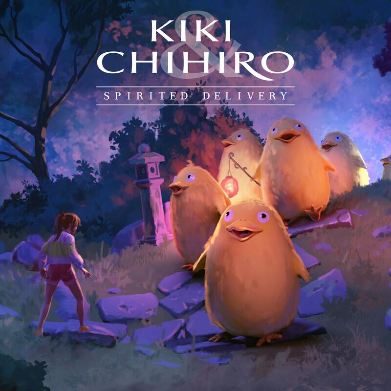 Kiki & Chihiro Spirited Delivery : Transhumance