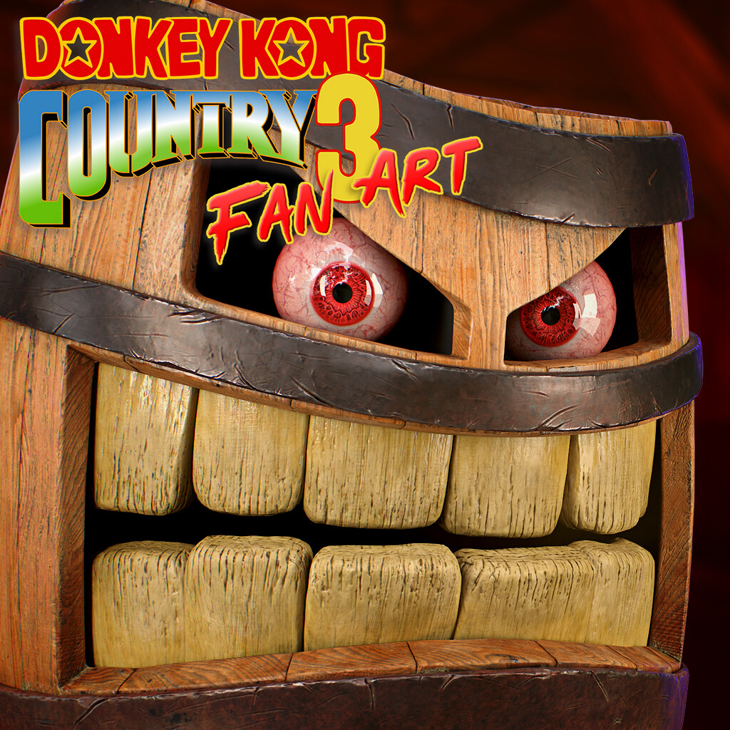 Donkey Kong Country 3 Fan Art: Belcha