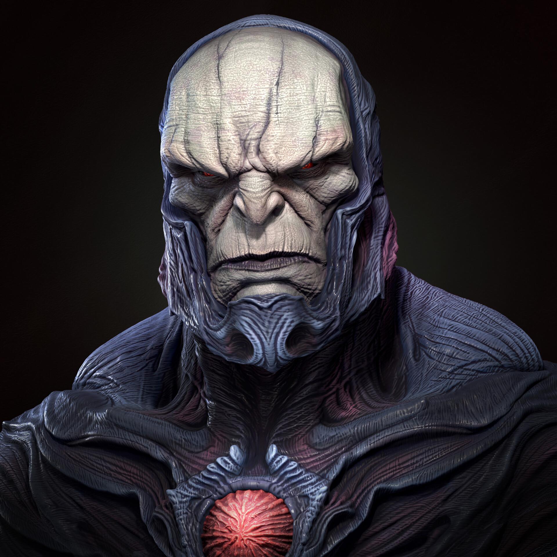 Darkseid bust (fan art)
