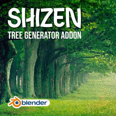 Shizen - Tree Generator - Blender Addon
