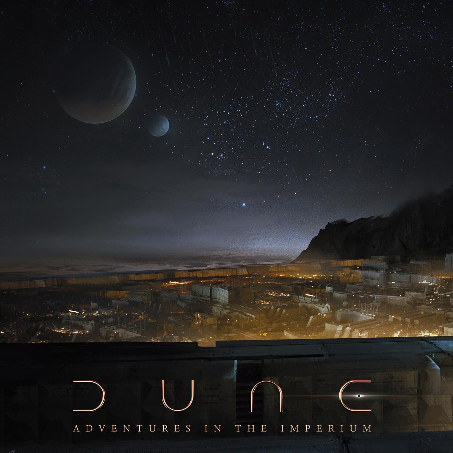 DUNE  / ARRAKEEN NIGHT
