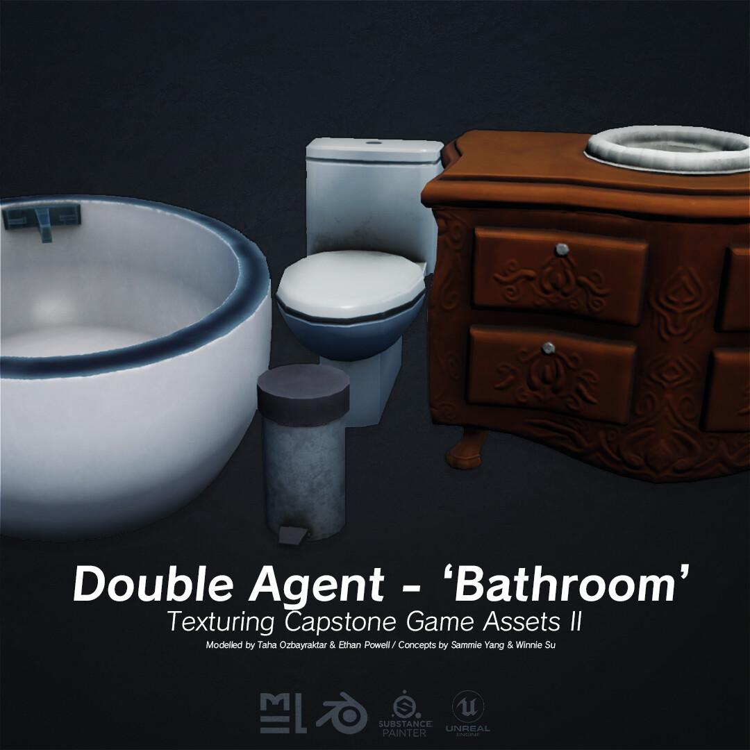 Third Year Capstone - Unreal Game Assets II - Bathroom Set