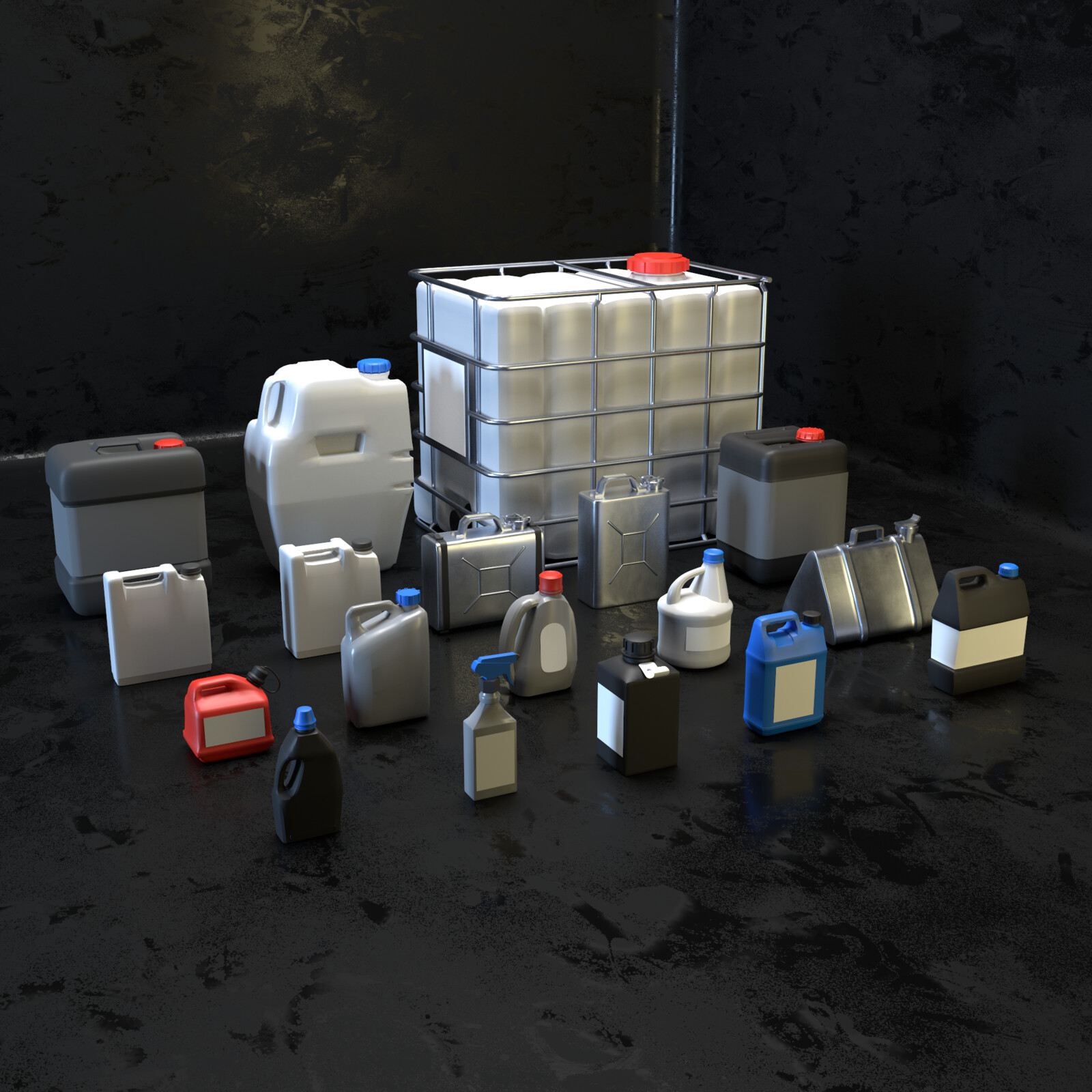 Props kit Canisters