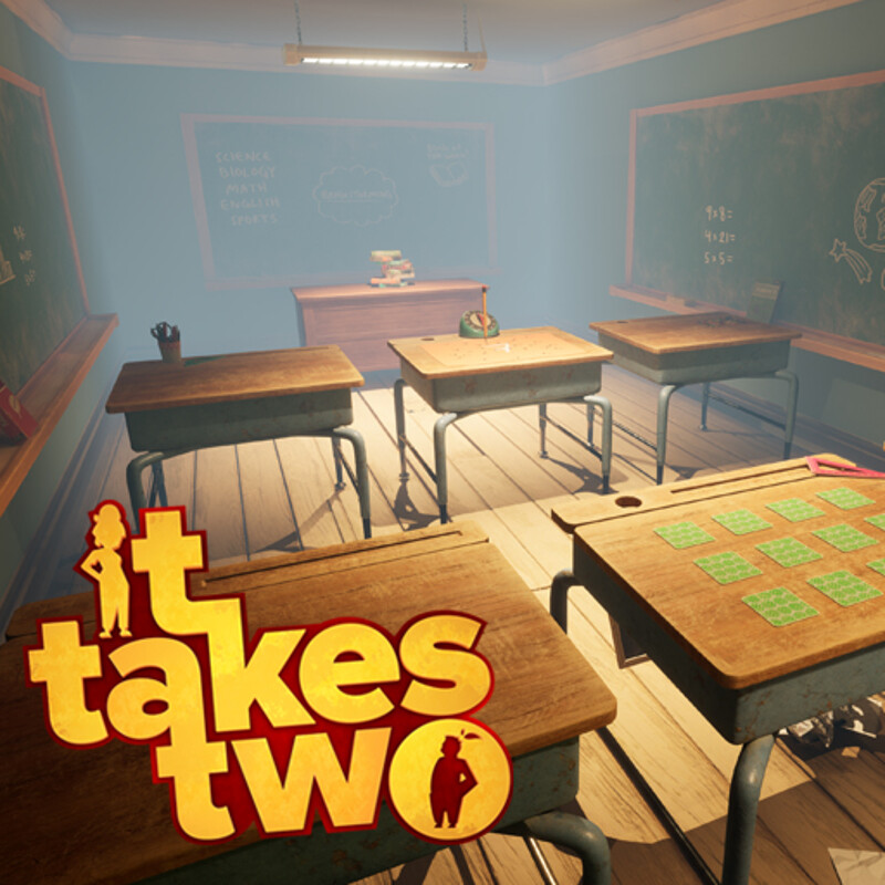 It Takes Two - Rose's Room - Hopscotch - Homework