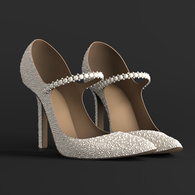 Julia ko julia ko marilyn shoes render7