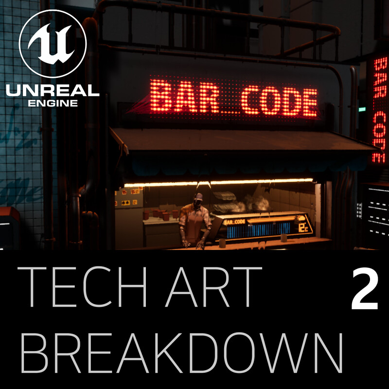 Bar_Code Technical Art Breakdown Part 2