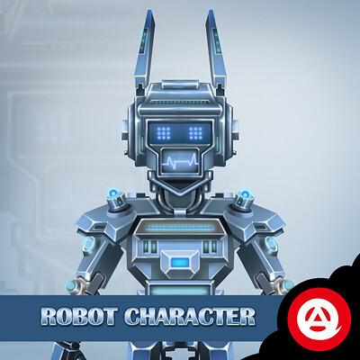 Amol lokare amol lokare robot character icon2