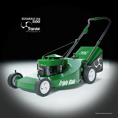 Michael klee michael klee kusanagi lawn mover 3d model by michael klee 2021 thumbnail2